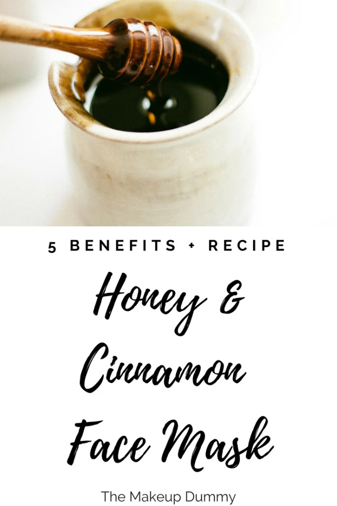 How To Make a Honey Cinnamon Face Mask. You only need 2 simple kitchen ingredients. A perfect at home remedy to treat different skin problems like acne or wrinkles. Tutorial on The Makeup Dummy blog.