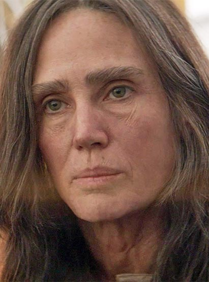 Jennifer Connelly in Aloft  oldage makeups