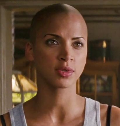 Nomie Lenoir in Rush Hour 3  shaved characters