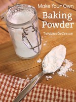 Make your own baking powder substitute with simple pantry ingredients