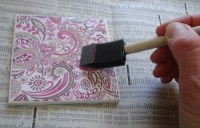 DIY Tile Coasters: A Great Way To Use Homemade Mod Podge ...