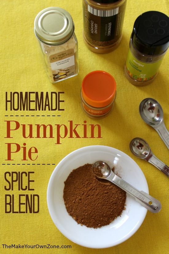 There's no need to buy a special jar of pumpkin pie spice blend when you can make this quick substitute using spices you probably already have in your pantry