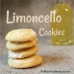 Recipe for Limoncello Cookies