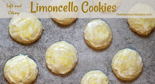 How to make limoncello cookies