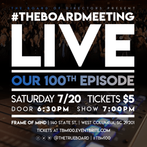 #TheBoardMeeting LIVE! @ Frame of Mind