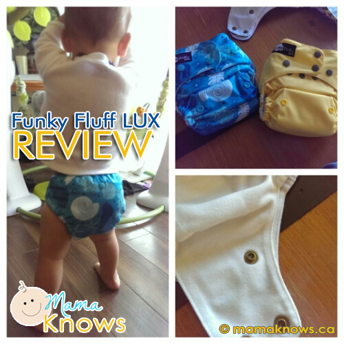 Funky Fluff Cloth Diaper Review