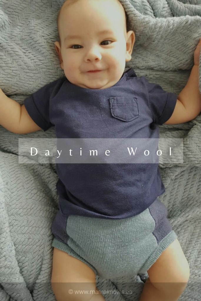 Sloomb Underwoolies daytime wool covers cloth diapering
