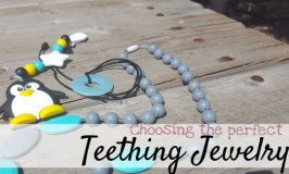 wearable Teethers and teething jewelry
