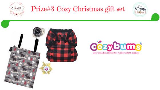 prize 2 cozy bums cloth diaper gift set
