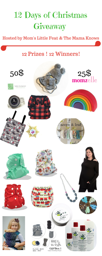 12 Winners for 12 days worth of Natural Parenting Prizes!