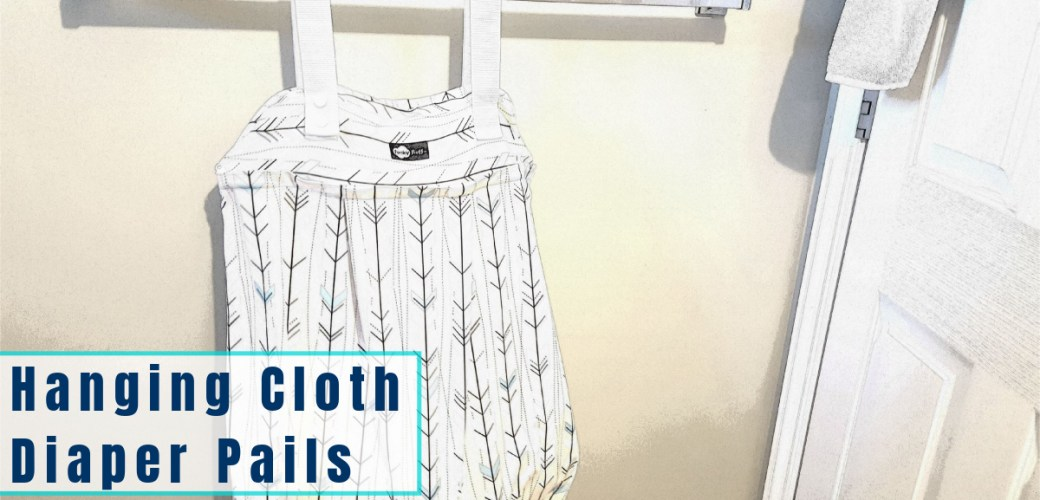 Storing Dirty Cloth Diapers in a Hanging Cloth Diaper Pail