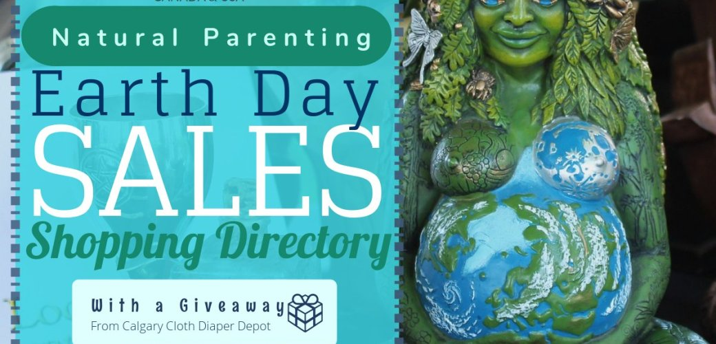 Earth Day Sales Directory and Cloth Diaper Giveaway!