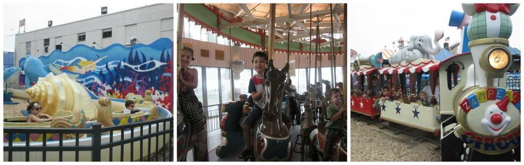 toddler ride Collage
