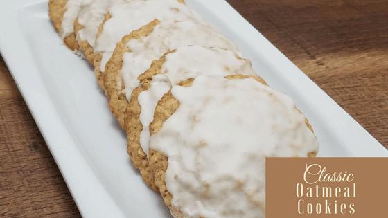 Classic Oatmeal Cookies Recipe
