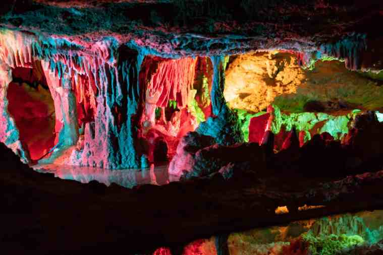rainbow cave grand cavern virginia