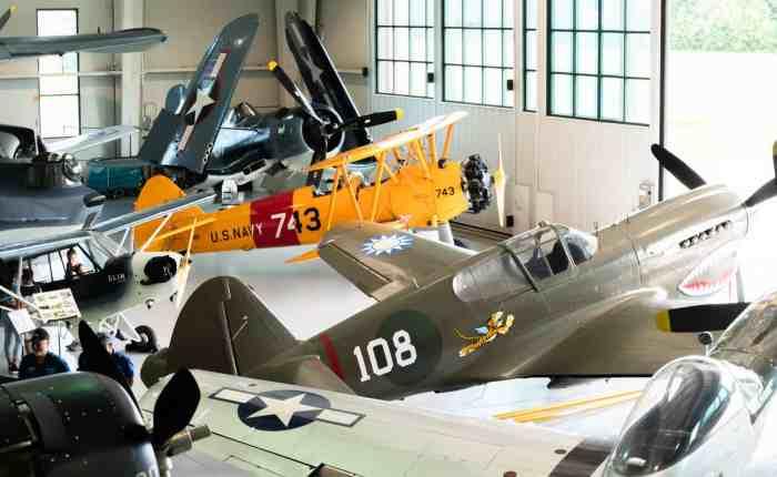 Virginia Beach Aviation Museum planes