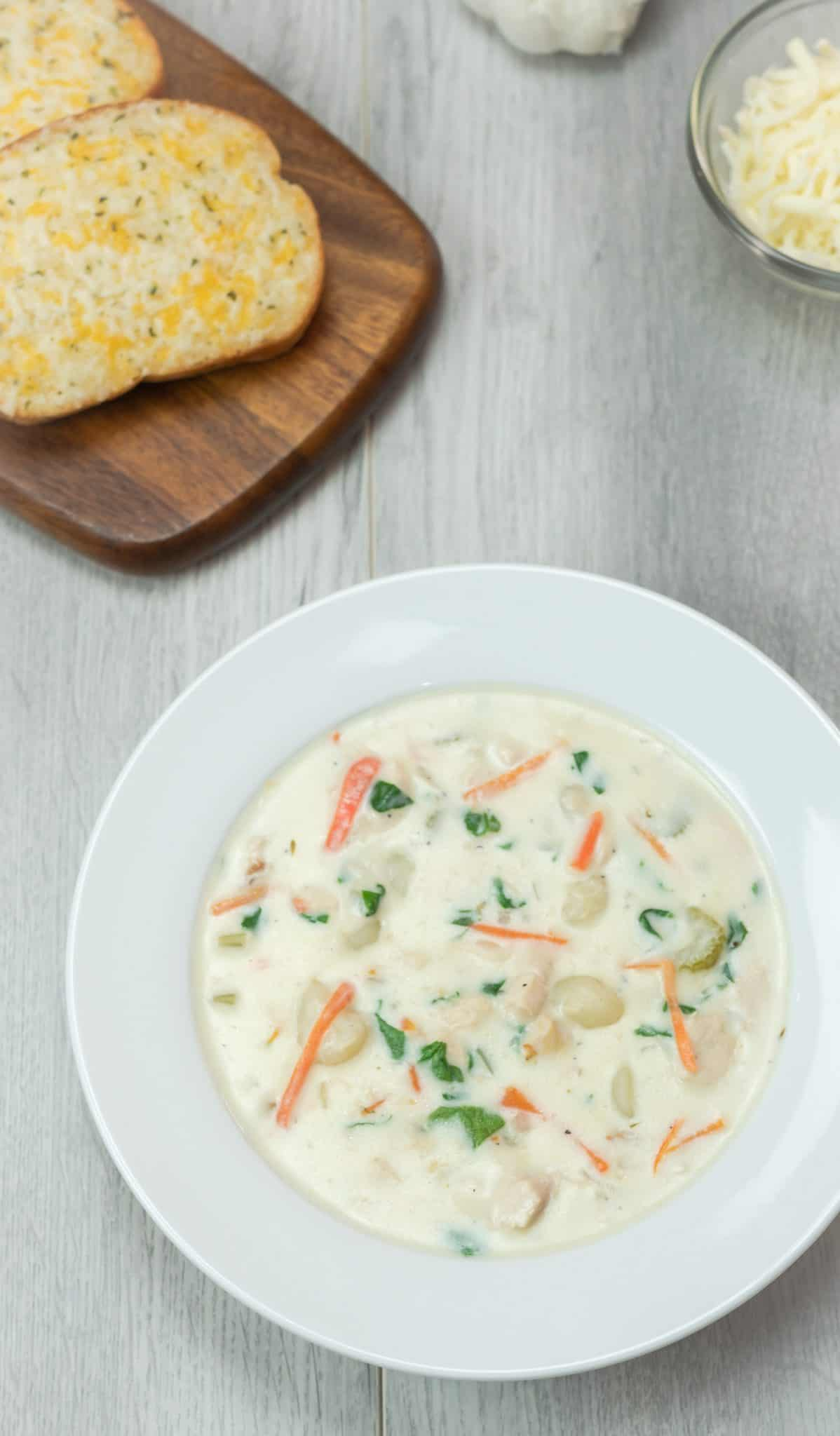 Instant Pot Chicken And Gnocchi Soup Olive Garden Copycat Mama