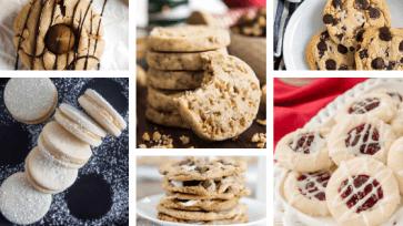 top cookie recipes shortbread chocolate chip vegan gluten free vegan paleo toffee thumbprint sugar