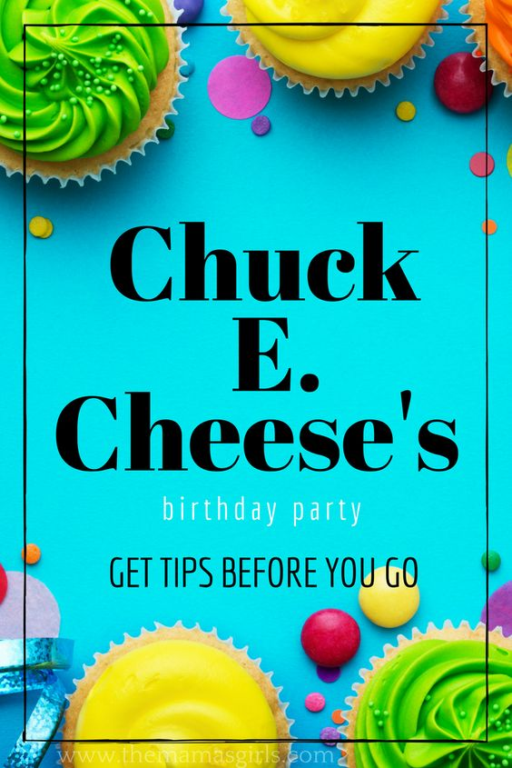 Chuck E Cheese S Birthday Planning Guide