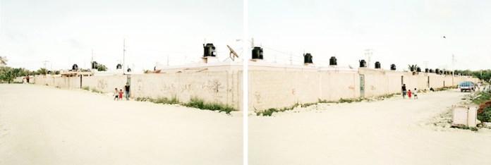 Francesco Jodice, What We Want, Tulum Pueblo, M05 AB, 2006 - 100x294cm dittico