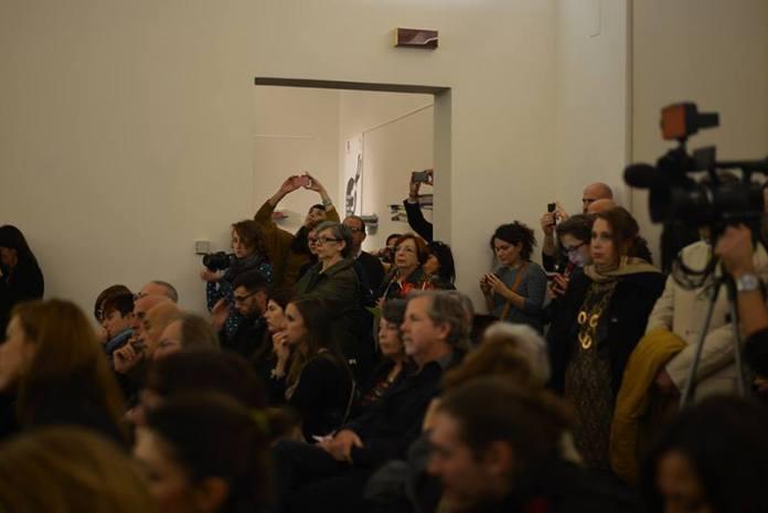 Il pubblico di uno degli incontri organizzati nell'edizione 2014