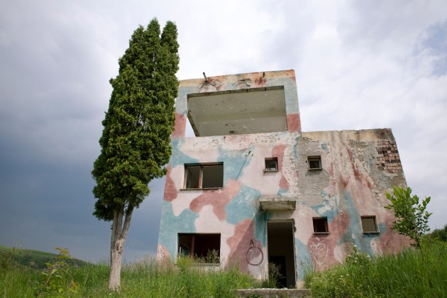 Unità difensiva abbandonata, Cluj (Romania) - Foto Mircea Struteanu