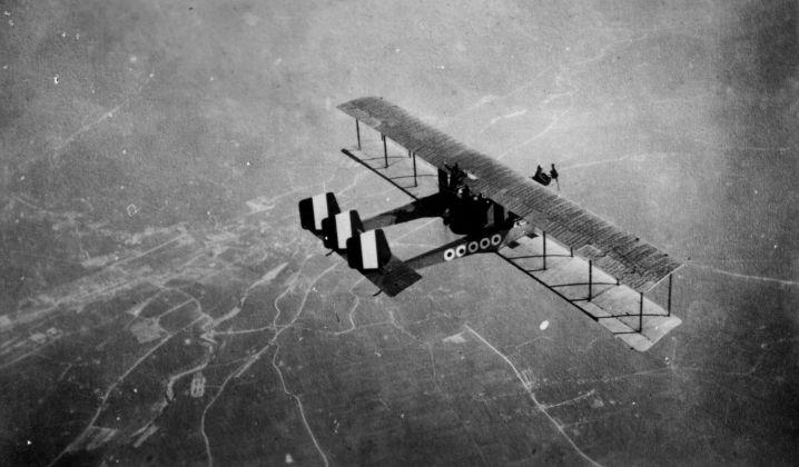 Archivio Gerardo Neri, Bombardiere serie Caproni.
