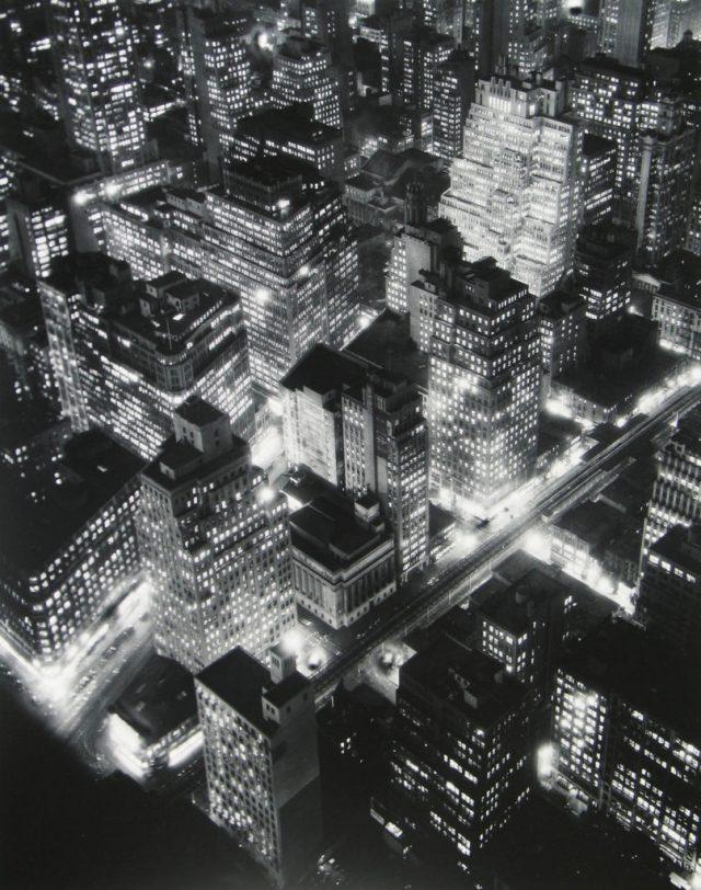 nightview, New York, 1932 Berenice Abbott
