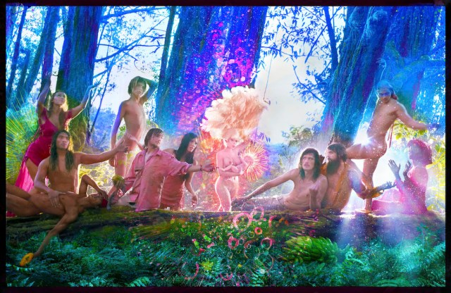 David LaChapelle, The First Supper, 2017 © David LaChapelle