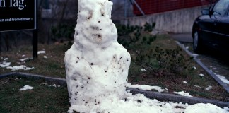 pupazzo di neve Toni Thorimbert