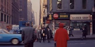 Tina Zuccoli, New York, 1964, diapositiva colore, 6x6 cm, courtesy Fondazione Fotografia Modena (Fondo Tina Zuccoli).