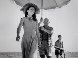 Pablo Picasso and Françoise Gilot, Golfe-Juan, France, August 1948 © Robert Capa © International Center of Photography/Magnum Photos