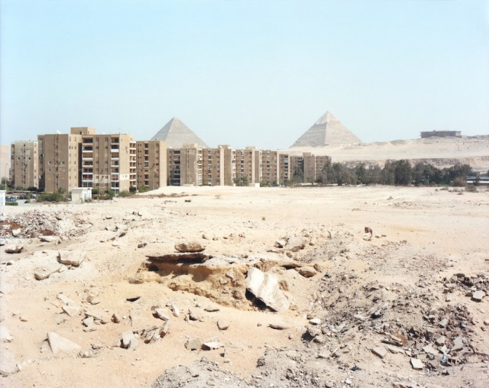 Cheops and Chephren, Egypt 2009 Milella