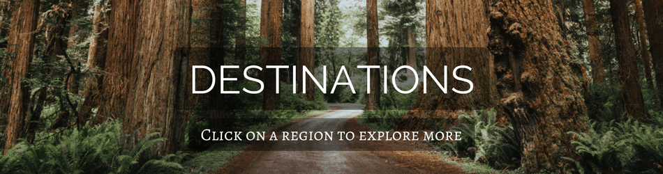 Click on any destinations on the map to explore more posts