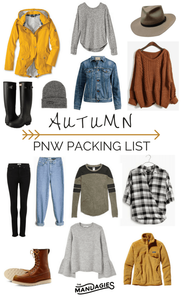 Fall Packing PNW