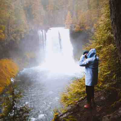Exploring Waterfalls in Oregon: Sahalie and Koosah Falls