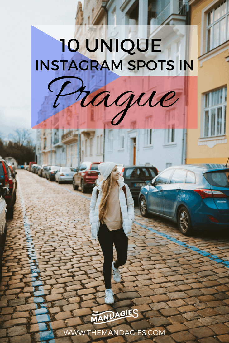 """Discover gorgeous and unique instagram spots in Prague! We're veering off the classic """"top 10 tourist locations"""" blog post and giving you the most gorgeous and underrated Instagram spots in Prague, definitely worthy of your visit."""