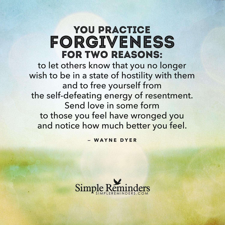 How to forgive everyone 53
