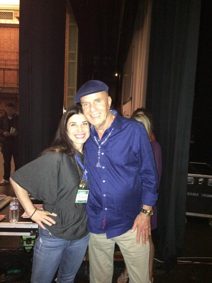 Jen and Wayne Dyer 10/14 Pasadena, Calif.
