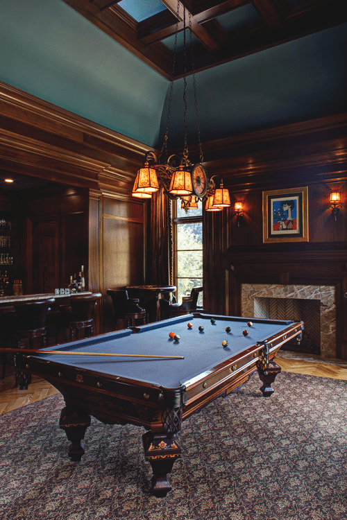 manly billiard room