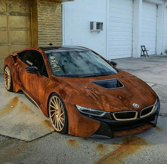 unique brown bmw