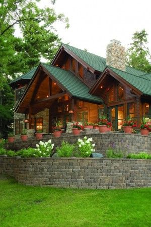 home in the woods