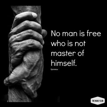 master of himself quote