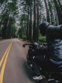 motorcycle selfie