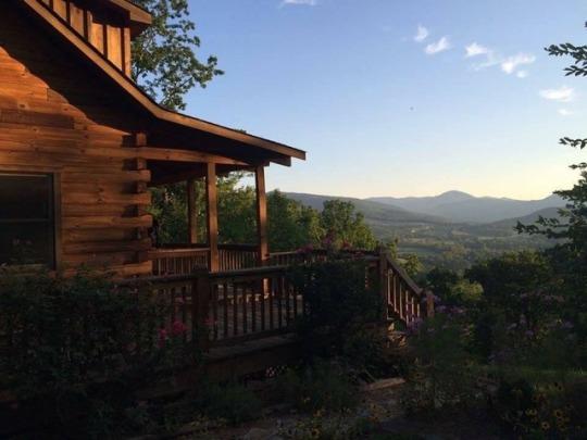 perfect mountain view