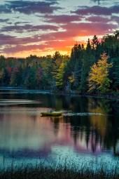 quiet summer lake