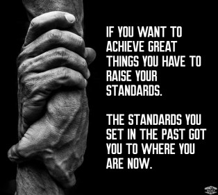 raise your standards