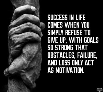 refuse to give up