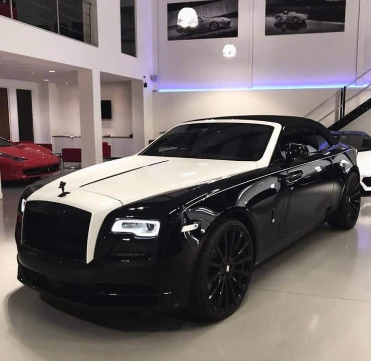 black and white rr ghost