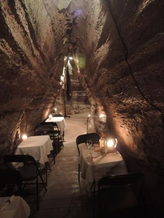 cave dining